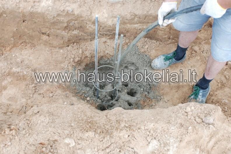 poliu betonavimas